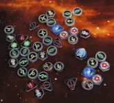 XWing 1 - Token Set Imperium (51 teilig)