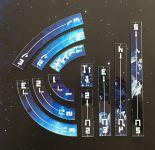 XWing 2 - Manöver Alien's Playground (11 teilig), bedruckt