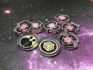 X-Wing EPIC Marker Set 01 - 8 teilig