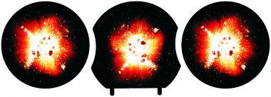 X-Wing Cluster-Bombe Schüttgut 10-Sets 30 teilig