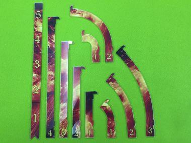 Runewars Schablonenset Lava01