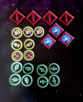 XWing 2 - Token Set Basic (26 teilig)